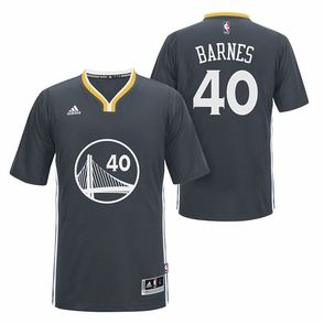 dcb8f936b Golden State Warriors adidas Slate Alternate Harrison Barnes Swingman Jersey