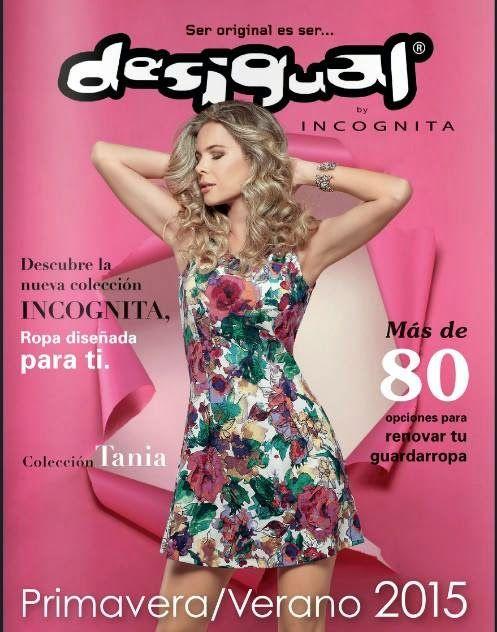 152451df90d Catalogo de Ropa de Mujer Desigual Primavera Verano 2015 Mexico