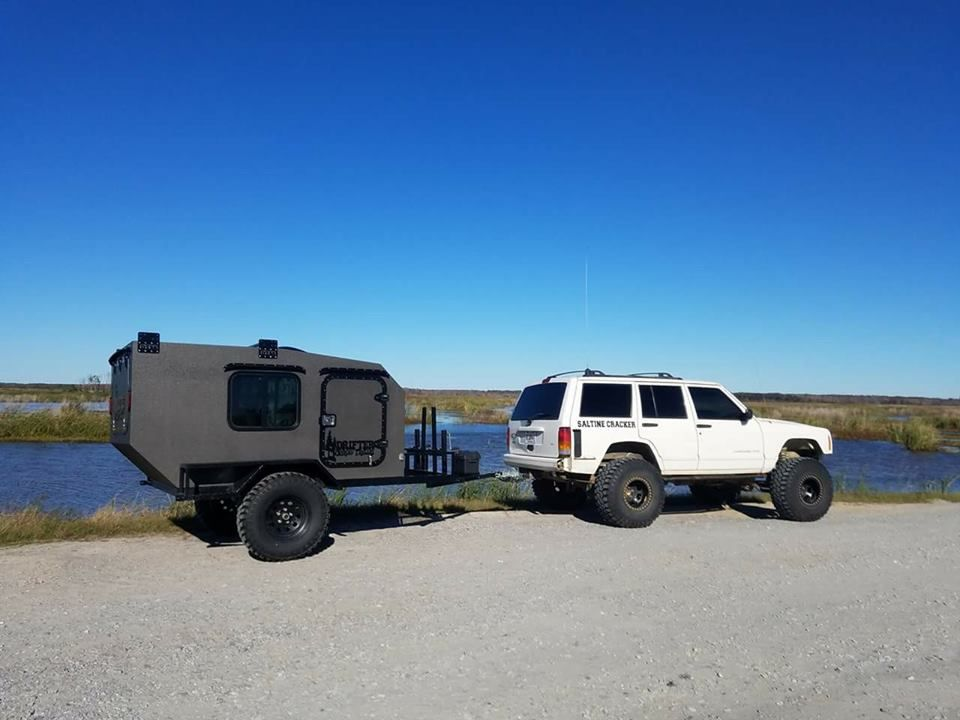 Drifter Trailers Dt58 Off Road Squaredrop The Perfect Small