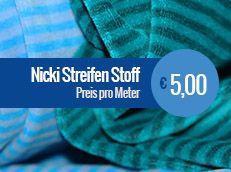 Nicki Streifen Stoffe Zu Großhandelspreisen