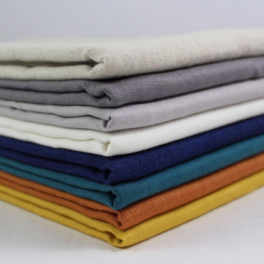 CT Double Gauze 100/% Cotton Japanese Fabric plain solid colour per metre