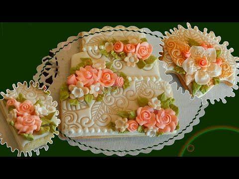 طريقة عمل الورود بالأيسينج Food Desserts Cake