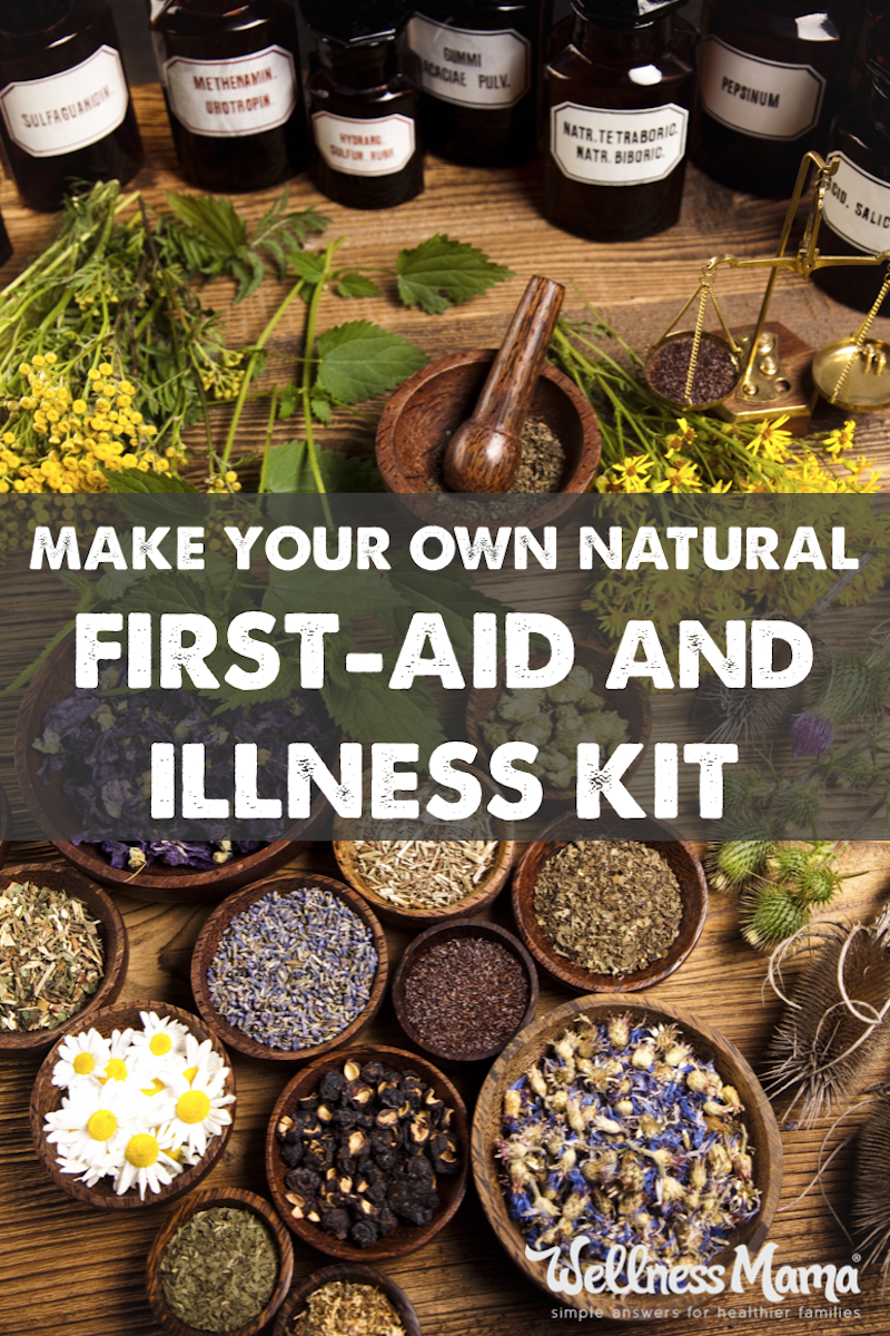 How to Create a Natural First Aid Kit is part of Natural health remedies, Herbalism, Natural home remedies, Herbal medicine, Herbal remedies, Natural cures - How to make your own natural herbal medicine chest & first aid kit with natural remedies, supplements and herbs to handle most minor injuries and illnesses