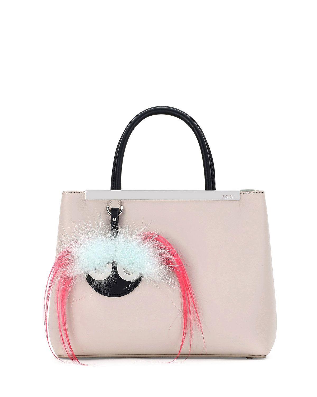 Fendi 2Jours Petite Monster Mirror Satchel Bag 88249c27ce0a8