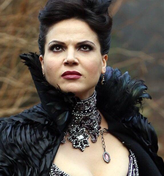 Regina Mills Evil Queen dress + necklace