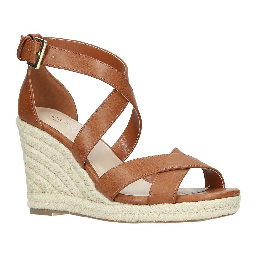 975096e79a4 BuyCarvela Smashing Cross Strap Wedge Heel Sandals