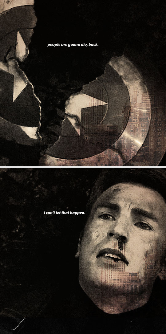 This interests me. Steve says he can't let people die. Isn't that what Tony tries? His nightmare is failing and his friends paying the price. He's trying to save them. That's not going to change in Civil War unless they completely change his character. Fans take sides, mostly with Steve. But we must all acknowledge that Tony and Steve are working towards the same goal