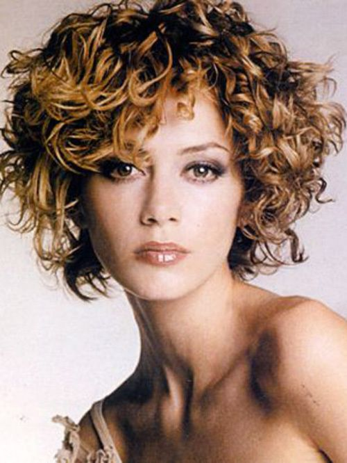 Naturally Curly Hairstyles For White Women Cute Short