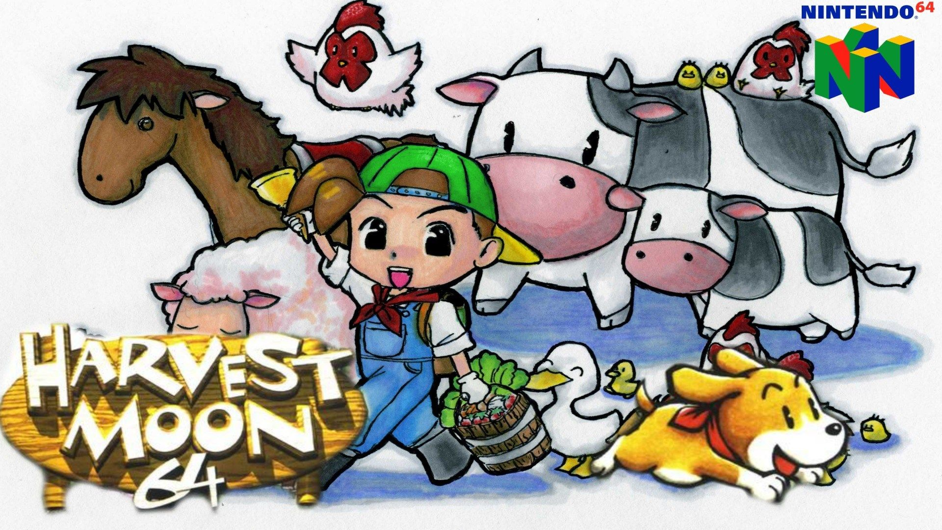 1920x1080 Hdq Images Harvest Moon 64 Harvest Moon Game Harvest Moon 64 Harvest Moon