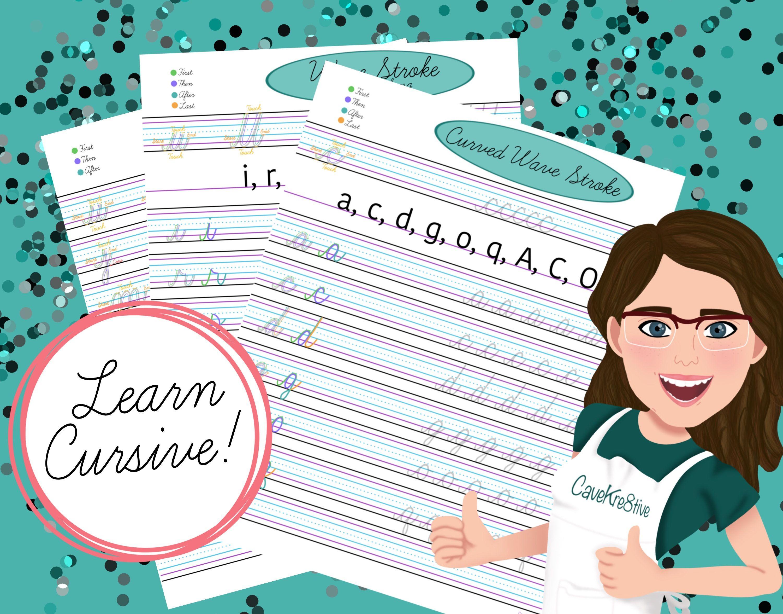 Cursive Handwriting Cursive Worksheet Handwriting Guide
