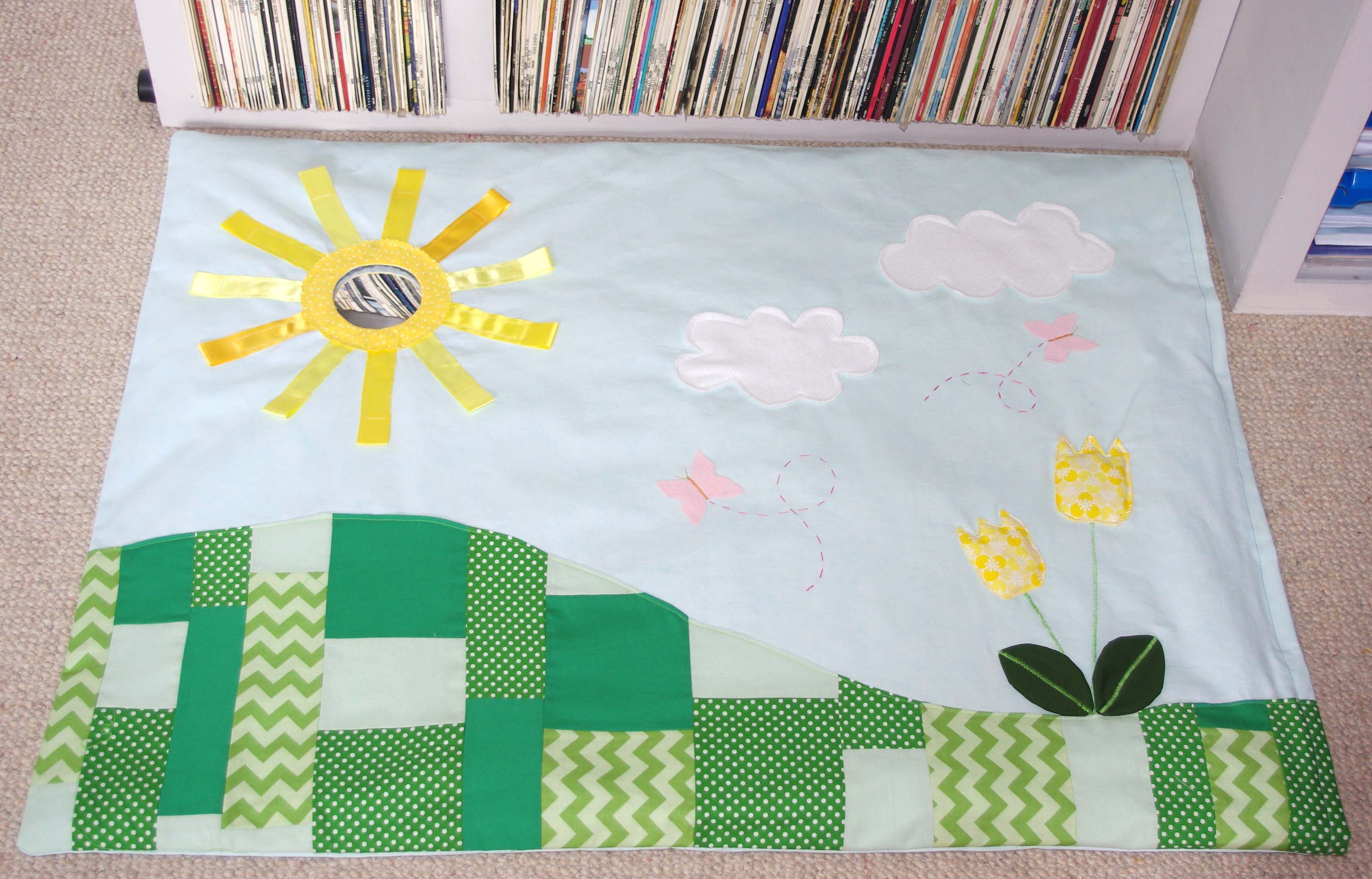 Another sunny day playmat