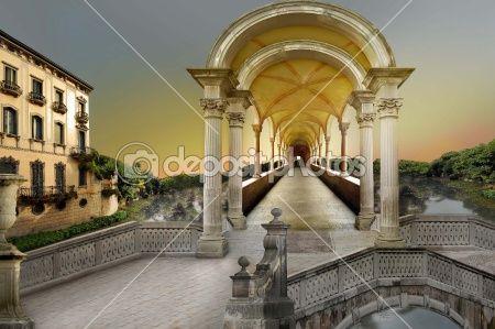 Surreal tunnel by Dessislava Draganova - Stock Photo