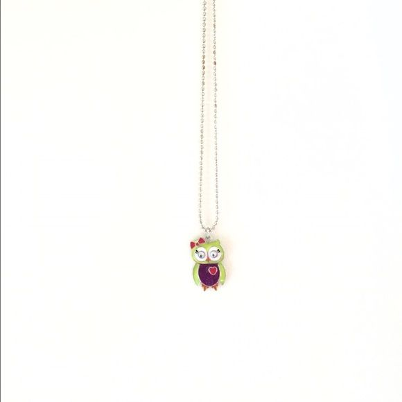 Cute Owl Charm Necklace This cute necklace is a chain necklace with a adorable little owl charm! It's simple, yet lovely and stylish. Cherokee Jewelry Necklaces