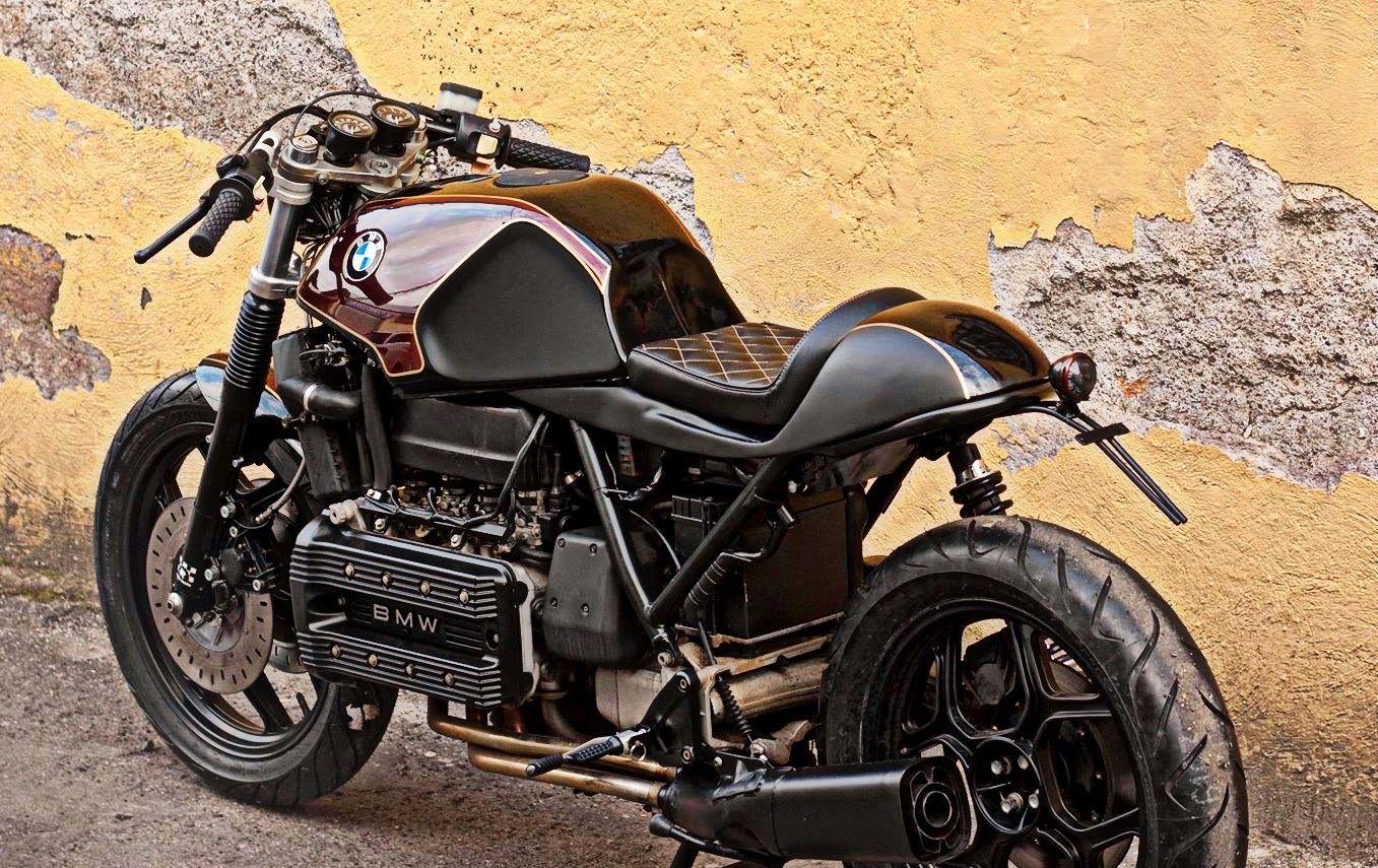 rocketgarage cafe racer bmw k100 oxblood motorcycle. Black Bedroom Furniture Sets. Home Design Ideas
