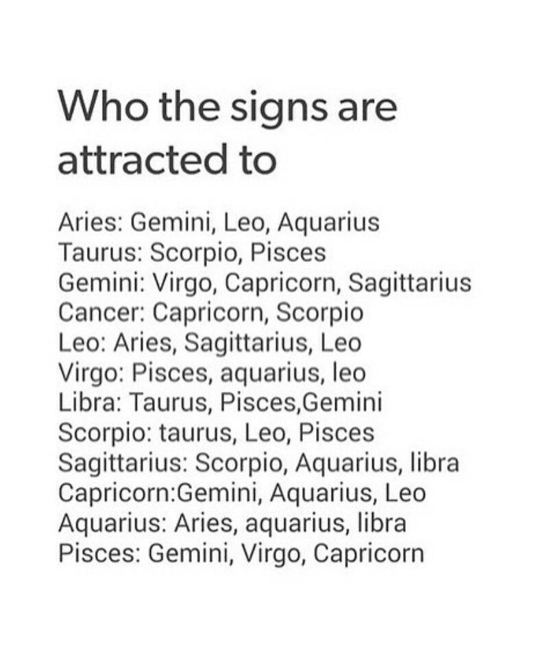 What are virgos attracted to