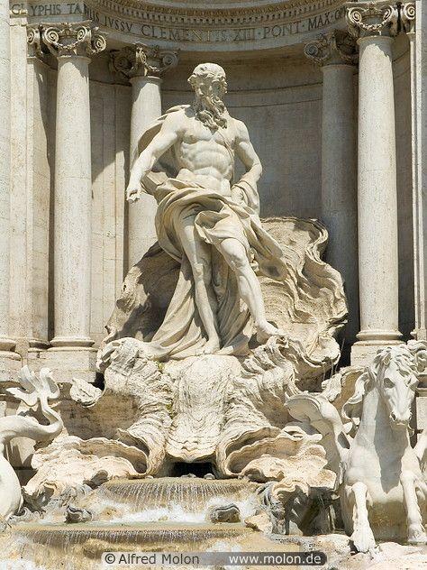 statue of the god neptune art pinterest country art