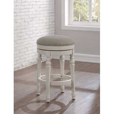 Miraculous August Grove Caulders 26 Swivel Bar Stool Products Bralicious Painted Fabric Chair Ideas Braliciousco