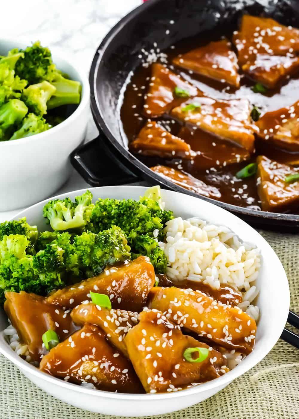 Teriyaki Tofu Vegan Gluten Free