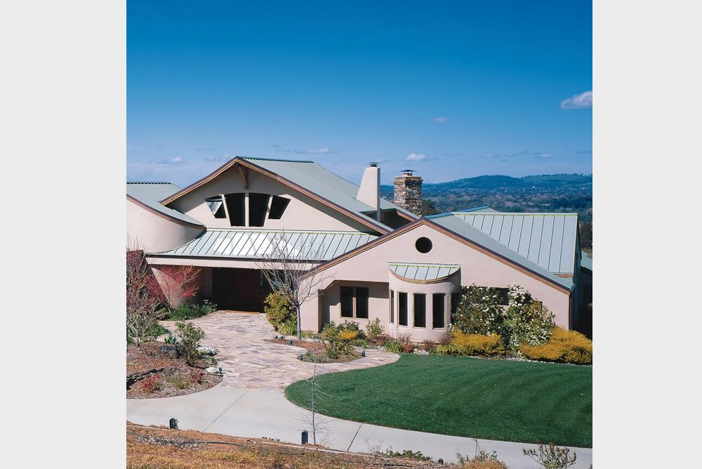 Design Span Hp Custom House Location Pacific Northwest Products Design Span Hp Application Roof Photo Credit None Metal Roof Metal Siding Building