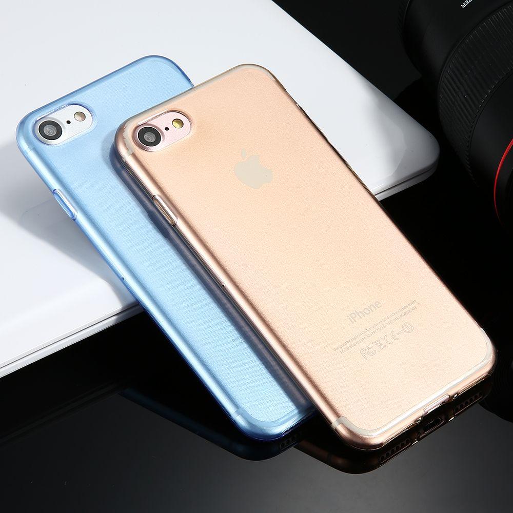 Kisscase 0.3mm ultra sottile trasparente tpu caes per apple iphone 6 6s 7 più flessibile molle del gel del silicone della copertura posteriore per iphone 6 coque