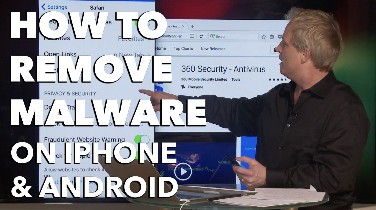How to remove malware on iPhone and Android. The fake