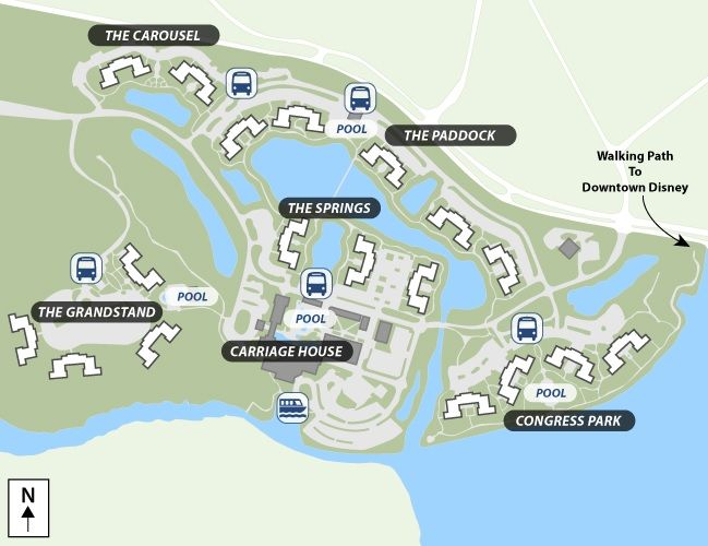 Disney Saratoga Springs Map Disney's Saratoga Springs Resort & Spa room recommendations | To