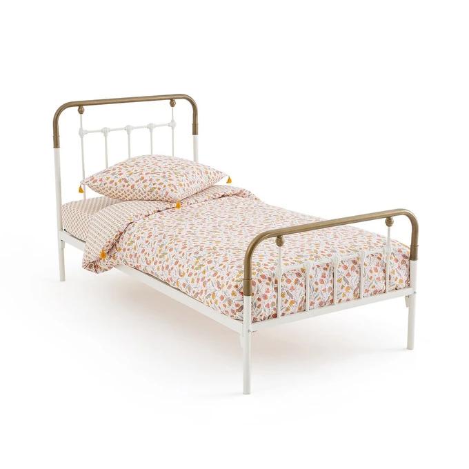 Lit En Metal Asper Bed Without Base Retro Bed Kid Beds