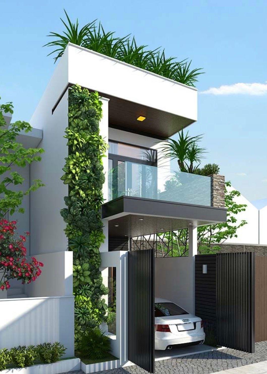 19 Ideas para fachadas de casas pequenas