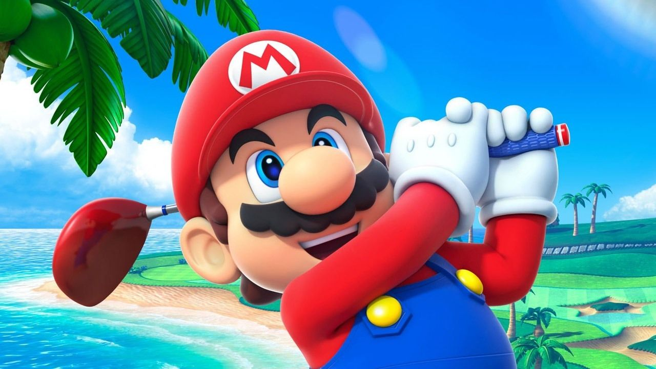 The best golf video games through the ages Mario sports