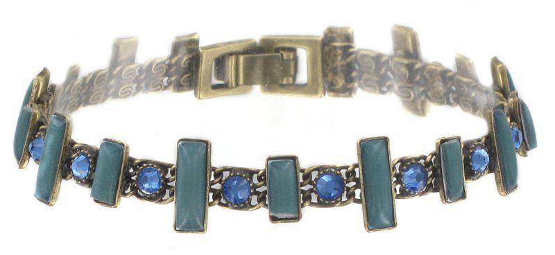 bracelet Baguette Couleur blue | Pro parádu - For show