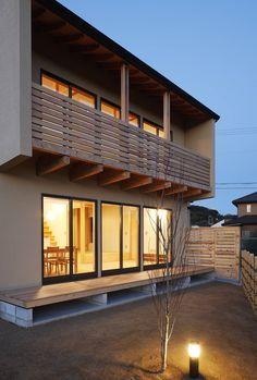 芦田成人建築設計事務所が手掛けた30坪のシンプルハウス 和風の家の