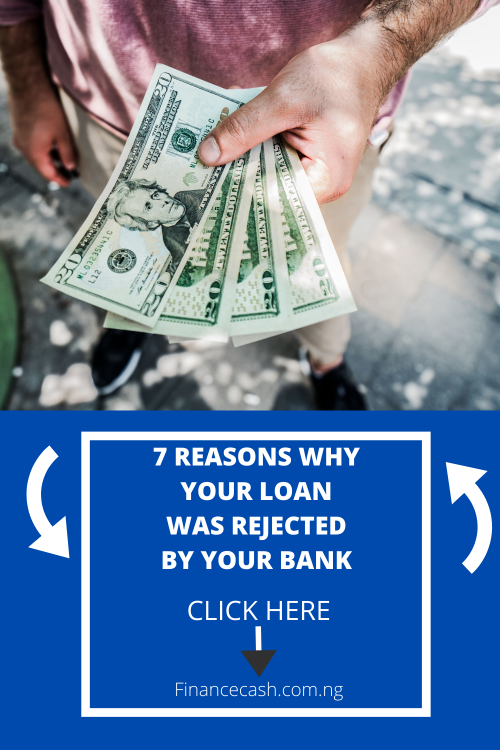 7 Reasons Why Your Loan Was Rejected By Your Bank In 2020 Loans For Bad Credit Personal Loans Online Loan