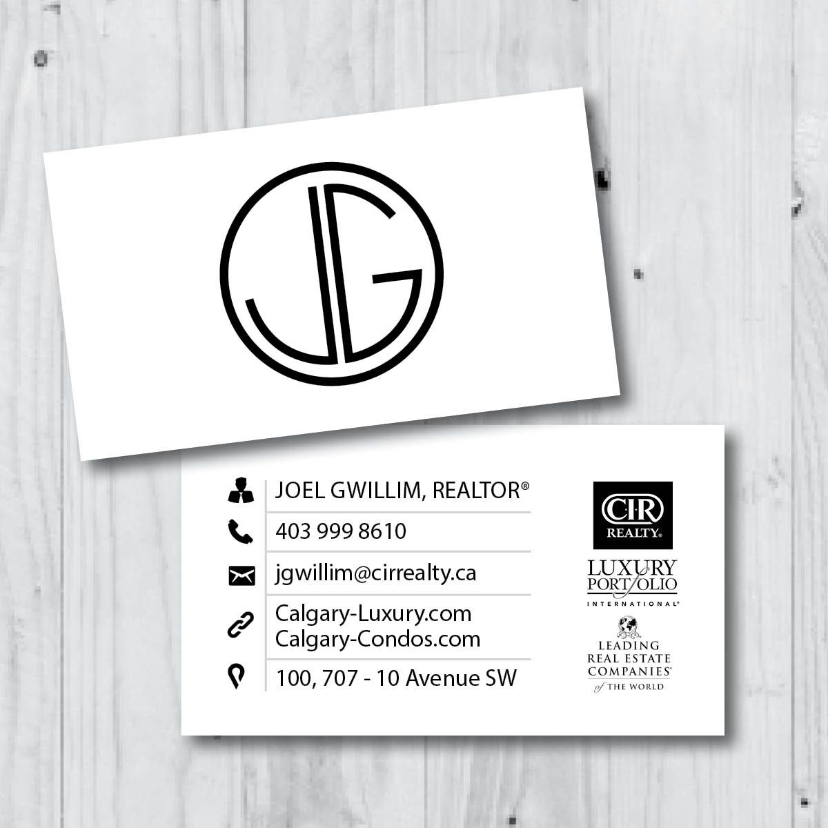 Business card design for calgary realtor real estate design business card design for calgary realtor real estate design reheart Gallery