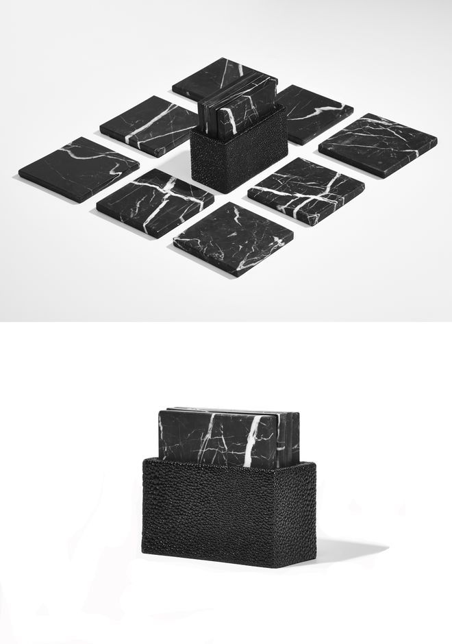 MARBLE COASTER SET - Coaster Sets Women - Alexander Wang Online Store