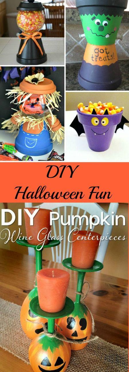 DIY Halloween Fun Halloween fun, DIY Halloween and Decoration - cute easy halloween decorations