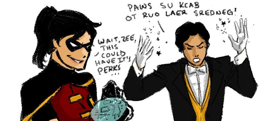 zatanna and robin fanfiction - photo #28
