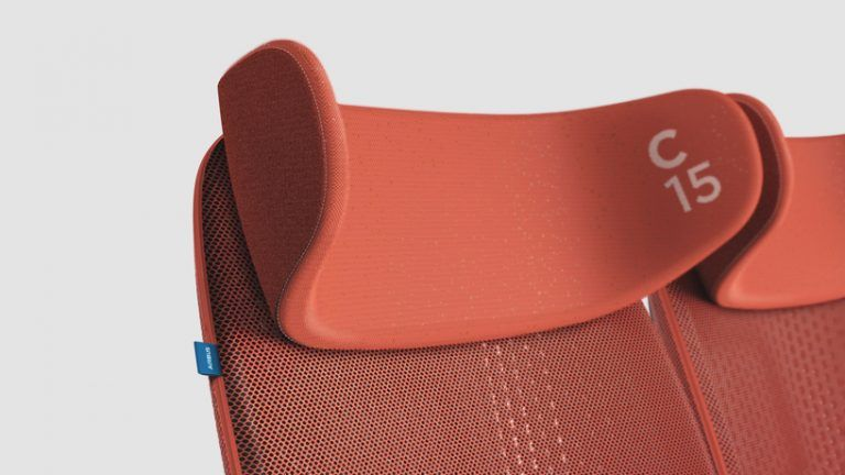 benjamin hubert unveils app-controlled seating concept for airbus