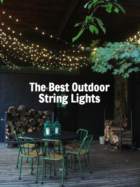The Best Outdoor String Lights To Light Up The Backyard, Patio,