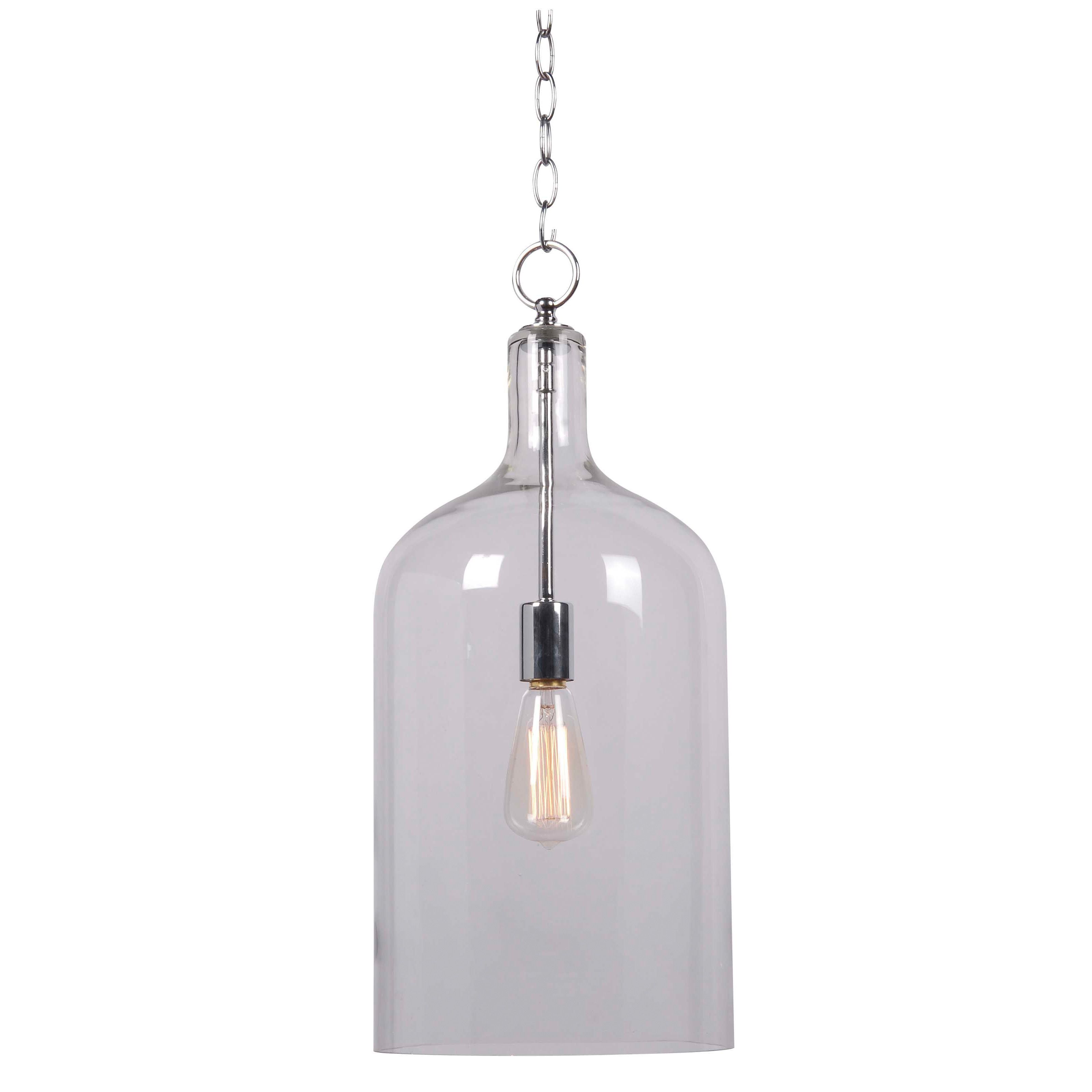 Hang this delicate minimalist onelight pendant over a bar or small
