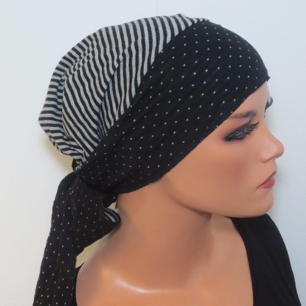 Kopftuch Verwandlungstuch 2in1 Beidseitig Tragbar Baumwolle Chemomütze Chemo Chemo Mützen Kopftuch Nähen Hüte Und Mützen