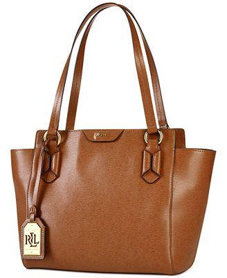 Lauren Ralph Lauren Tate Modern Shopper Ralph Lauren Tote Bags, Ralph  Lauren Handbags, Brown fa68b0b555