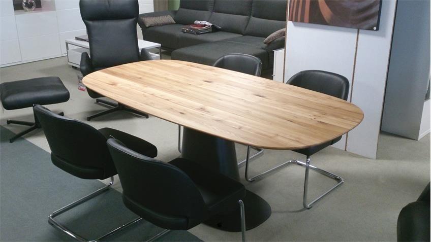 Esstisch Rolf Benz 8950 Tischplatte Ulme Massiv Geolt Esstisch