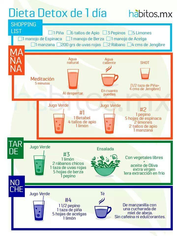detox dieet schema gratis