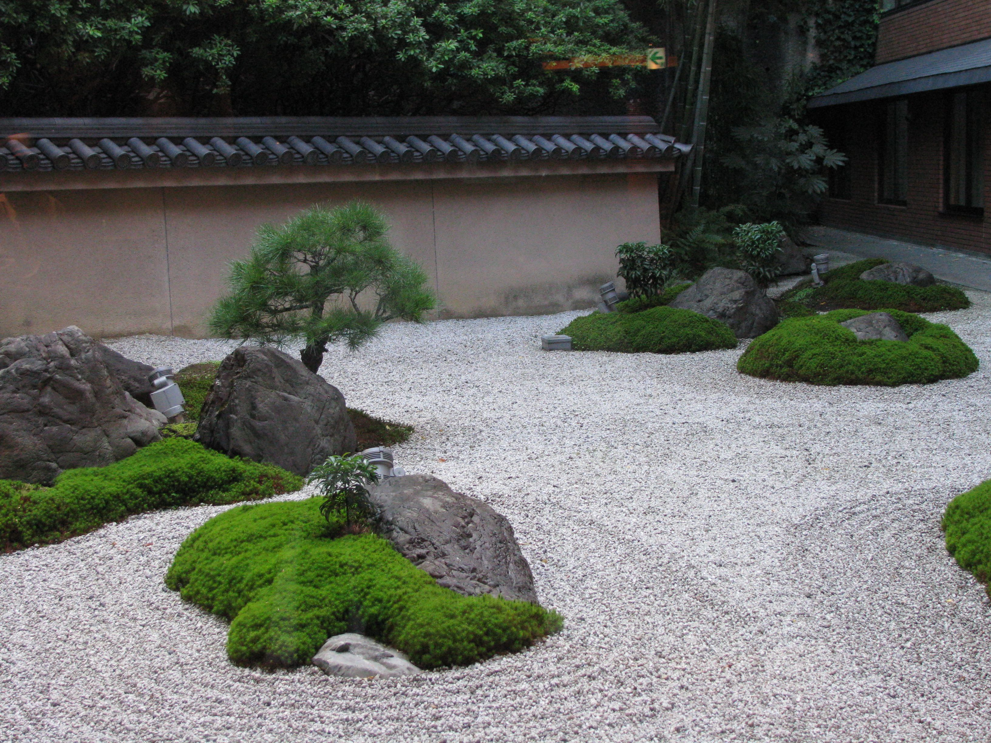 Japanese garden examples google search japanese garden for Japanese zen garden