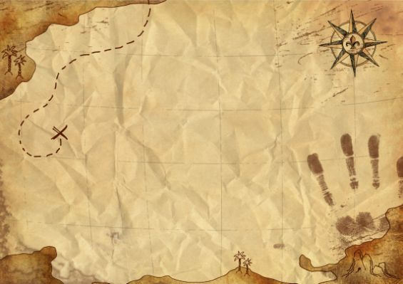 Fun Pirate Treasure Map Tex Schatzkarte Schnitzeljagd Vorlage Schatzsuche