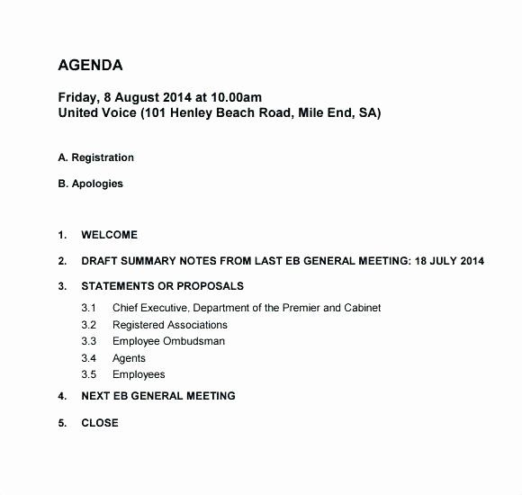 Weekly Staff Meeting Agenda In 2020