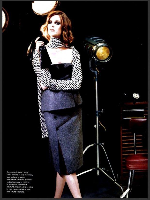 awesome Numéro Magazine #146 Setembro 2013 | Nadja Bender, Ashleigh Good e Cara Delevingne por Karl Lagerfeld