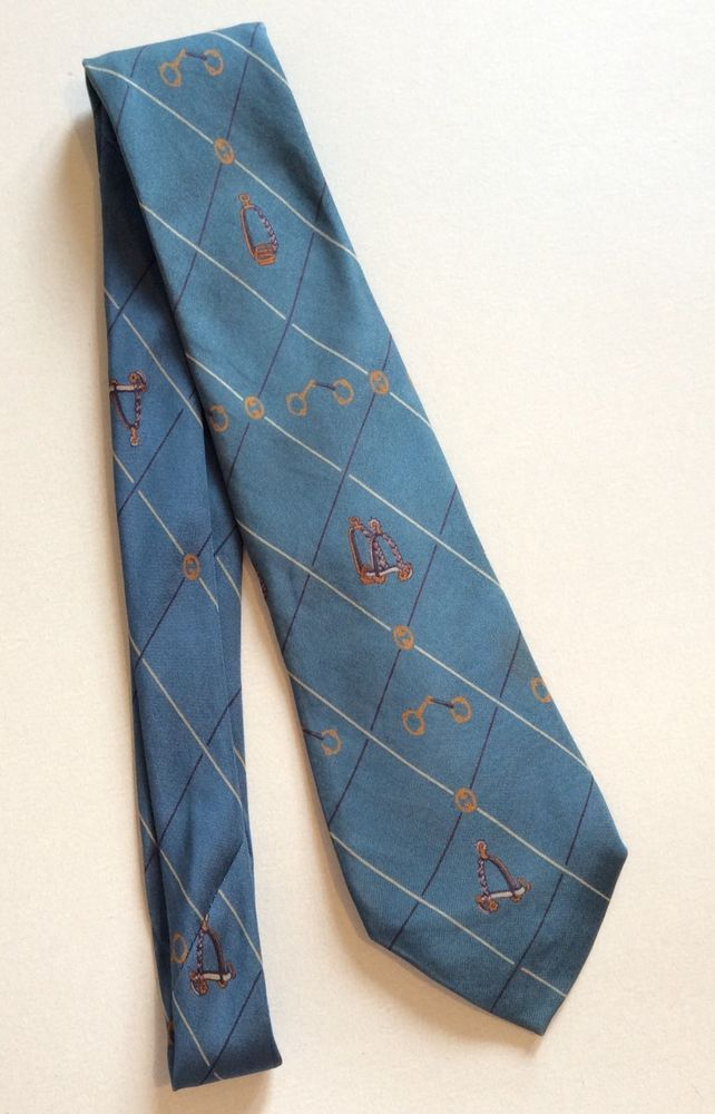 b5d6f53c76e1 GUCCI Vintage Blue Silk Tie Made In Italy Necktie Men Suit Shirt Accessory  Gift #Gucci #Tie
