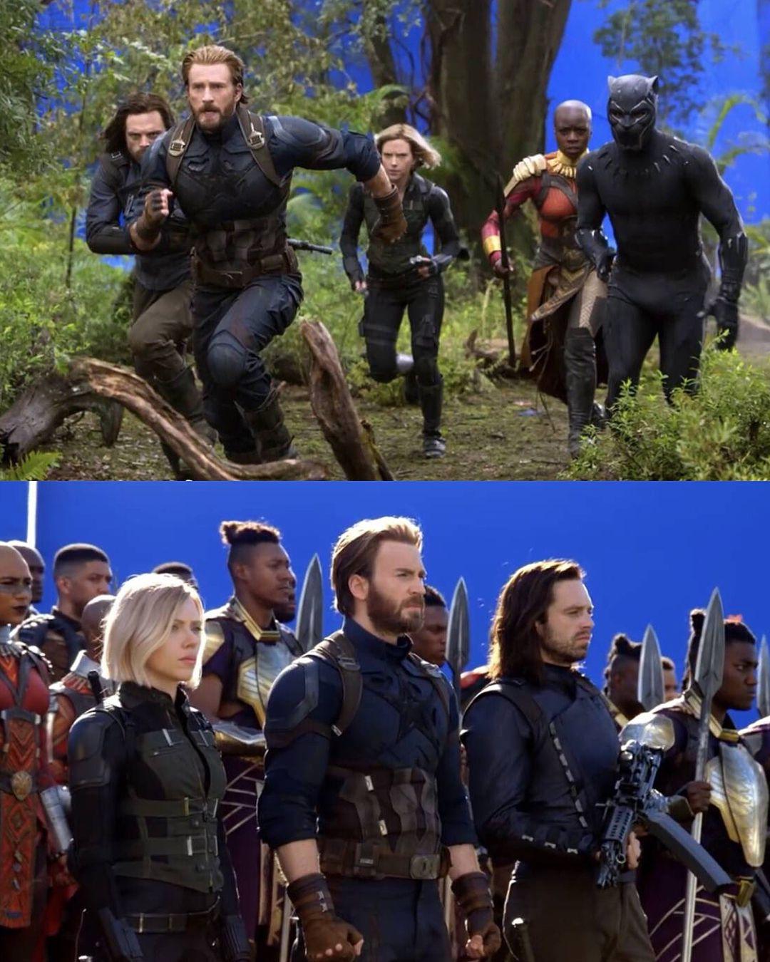 Behind the scenes marvel movies avengers marvel memes