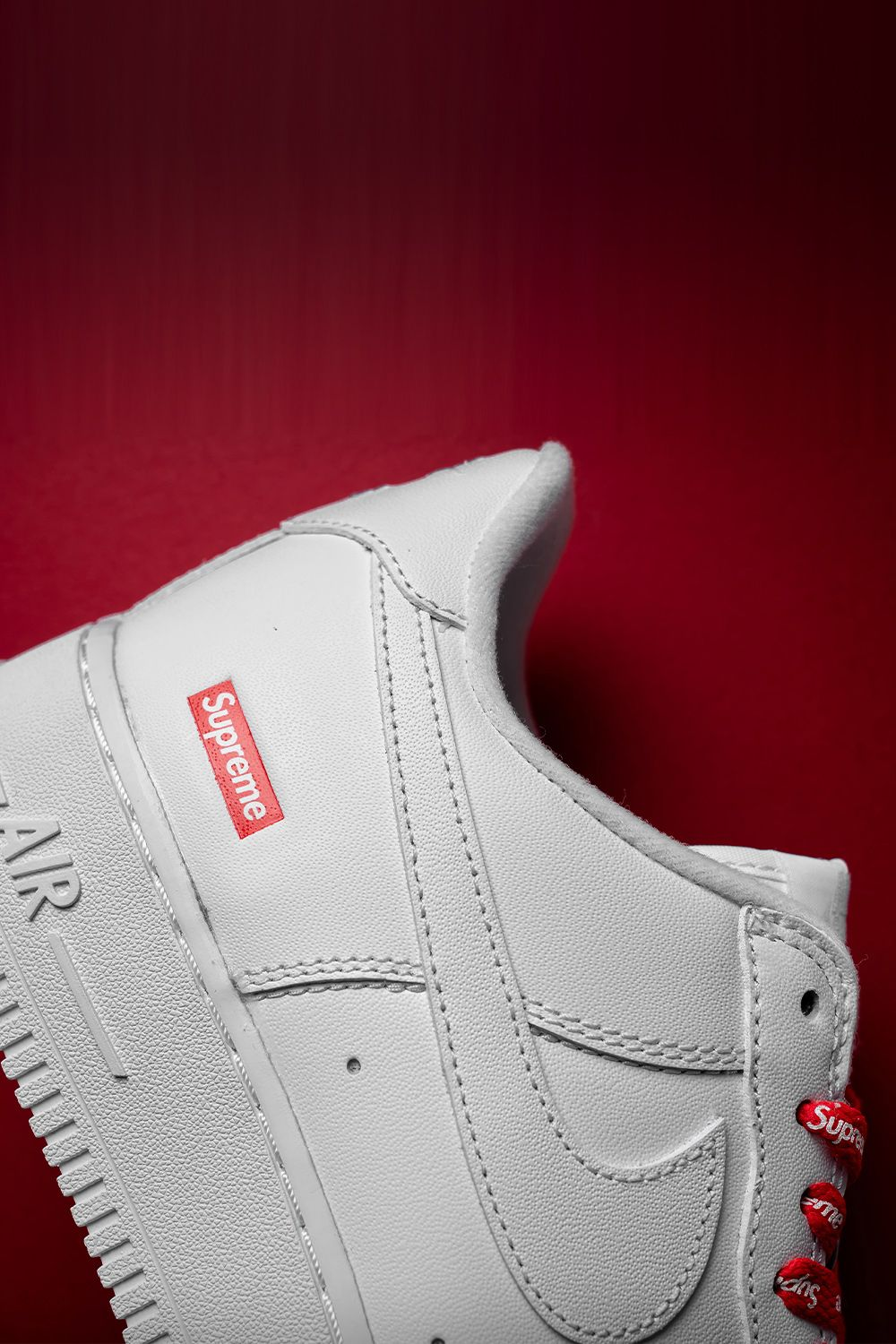 Nike Air Force 1 Low Supreme Mini Box Logo White Cu9225 100 2020 In 2020 Streetwear Shoes Air Force One Shoes Supreme Shoes